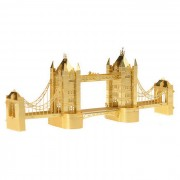 3D Modelo de la Asamblea de bricolaje del puente de la torre de Londres - Gold
