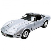 1982 Chevrolet Corvette Silver 1/18 by Welly 12546
