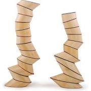 Hape - Totter Tower Blocks Bamboo Stacking Set
