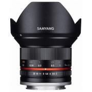 Samyang 12mm f/2.0 NCS CS (negru) (Canon M)
