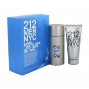 Carolina Herrera - 212 Caixa De Presente Ou Kit 100 ML Eau De Toilette Spray + 100 ML Pós Barba Gel - Masculino