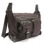 LICENCE 71195 Nordic Shoulder Bag Brown LBF10562-BR