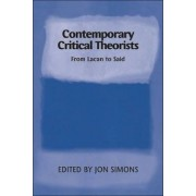 Contemporary Critical Theorists by Jonathan Simons