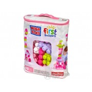 Set Mega Bloks, 60 buc, pentru fetițe
