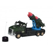 OllyPolly Super Truck military war blastic missile war tank truck RC remote control toy gift with light and sound
