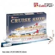 3D Puzzel - Cruise Ship (86 stukjes)