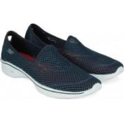 Skechers go walk 4 Walking Shoes(Blue)