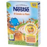 Nestle 8 cereale cu miere, de la 8 luni, 250 g