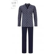 Ringella pyjama knopen voor heren