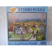 BITS AND PIECES 1000 PIECE STUDIO JIGSAW PUZZLE MARY ANN VESSEY SPRING FLING by BITS AND PIECES