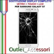 Cambio Sostituzione Display Rotto Samsung GALAXY S7 G930F Schermo Vetro Touch Lcd Assemblaggio