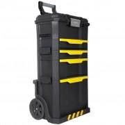 Stanley Čierny pojazdný kufor na náradie z plastu 1-79-206