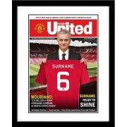 Manchester United FC Personalised Magazine Cover