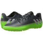 adidas Messi 163 TF Dark GreySilver MetallicSolar Green