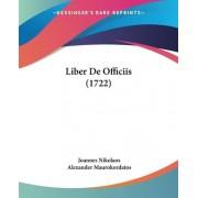 Liber de Officiis (1722) by Joannes Nikolaos