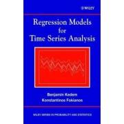 Regression Models for Time Series Analysis by Benjamin Kedem