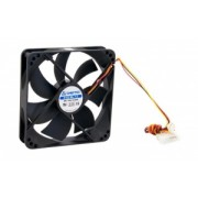 Chieftec AF-1225S case fan - 120x120x25mm -3 pin/Molex