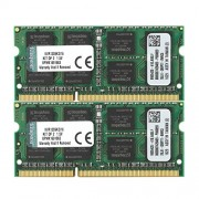 Kingston KVR13S9K2/16 Memoria RAM da 16 GB, Kit 2x8 GB, 1333 MHz, DDR3, Non-ECC CL9 SODIMM 204-pin, 1.5 V