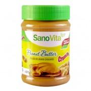 Sanovita Unt de alune - Pasta crocanta de alune 375g