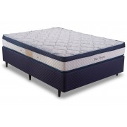 Colchão Herval Molas Pocket Blue Dreams - Colchão King Size - 1,93x2,03x0,24 - Sem Cama Box