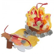 Vacation Bible School (Vbs) 2018 Rolling River Rampage Campfire Suncatcher Craft Kit (Pkg of 12): Experience the Ride of a Lifetime with God!