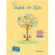 English for kids - Caiet - Clasa 1 color - Cristina Mircea