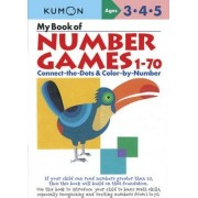 My Book of Number Games 1-70 by Kumon
