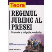 Regimul juridic al presei - coperta cartonata