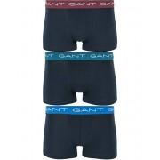 Gant Cotton Stretch 3-Pack Trunk Navy