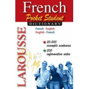 French Pocket Student Dictionary by Larousse Editorial
