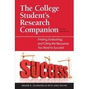 The College Student's Research Companion by Arlene Rodda Quaratiello