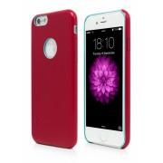 Husa Vetter Clip-On Slim Leather Feel rosie pentru telefon Apple iPhone 6/6S