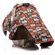 Elonka Nichole Baby Boy Car Seat Canopy BBQ Pig