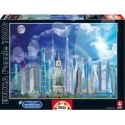 Educa Puzzle Genuine Tall Buildings 1000 de piese 16287