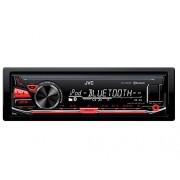 JVC KD-X330BT receptor multimedia para coche Radio para coche (FLAC, MP3, WAV, WMA, FM, LW, MW, LCD, Blanco / Rojo, Negro)