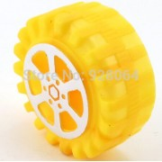 Generic free shipping 20pcs / toy plastic wheels / 42 * 2mm / Simulation wheel / DIY model accessories / remote control car accessories