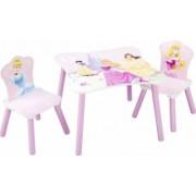 Set masuta si 2 scaunele Printesele Disney