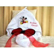 Trusou Botez Mickey Mouse - 7 piese