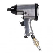 Ferm ATM1043 Compressed-Air Impact Screwdriver 1/2 Inch Orion and DIN Nozzles