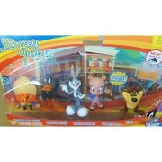 Looney Tunes Figure 5 Pack - Yosemite Sam Daffy Duck Bugs Bunny Porky Pig and Taz