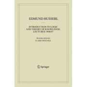 Introduction to Logic and Theory of Knowledge by Edmund Husserl