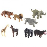 Safari Ltd Good Luck Minis - Wild Fun Pack - Realistic Hand Painted Miniature Toy Figurine Models - Quality Construction