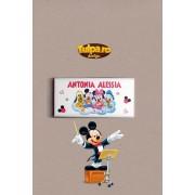 Invitatie de botez sau marturie delicioasa cu Mickey Mouse