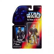 Star Wars Action Figur 69587 - Han Solo in Hoth Gear mit Blaster Pistole und Assault Rifle