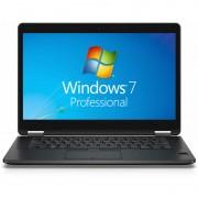 Laptop Dell Latitude E7470 14 inch Full HD Intel Core i7-6600U 14 inch Full HD 8GB DDR4 256GB SSD 4G Windows 7 Pro Black