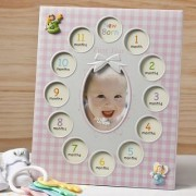 Fashioncraft Baby Girl First Year Collage Frames
