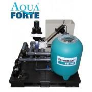 Aquaforte EconoBead komplett EB-50 szűrőrendszer 20m3-es tó méretig SK500