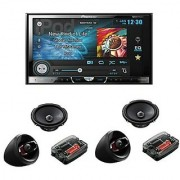 Pioneer Avh X4690Dvd - Lcd Touchscreen Dvd Player + 2 Pairs Of Ts A1605C - 16Cm 20Mm Component System Package