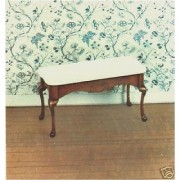 The House of Miniatures 40059 Queen Anne Serving Table/circa 1740-1750