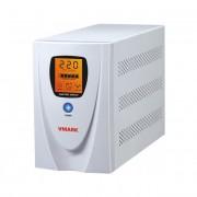 UPS V-Mark, UPS-1000VP, 1000VA, 8 min back-up (half load), LCD Display, Power Management Software - Cable (V-MARK)